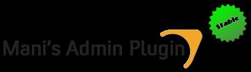 Mani Admin Plug-in V.1.2Vb