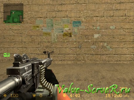 Скин оружия для M249 - ARES Shrike