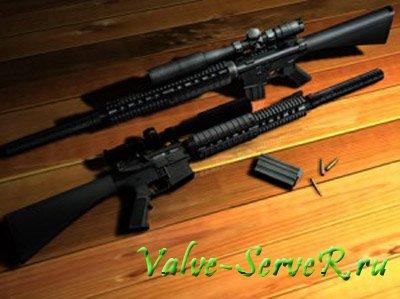 Скин оружия для Sig 550 – MK.11 Sniper's rifle
