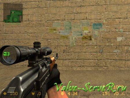 Скин оружия для G3/SG-1 -Zastava Arms M76 Updated