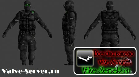 Скин админа Sam Fisher