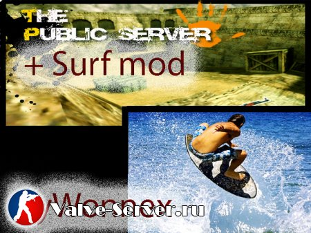 Surf+Public Server by Wonnex