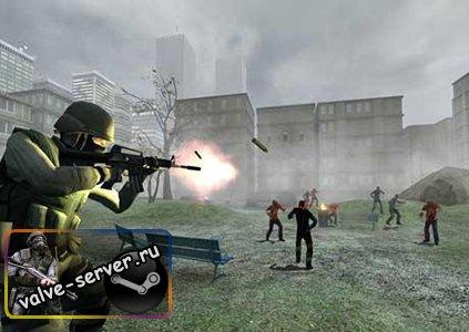Готовый сервер ZombieMod v34 By ПоSeйDon