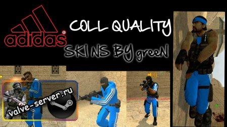 blue skin adidas