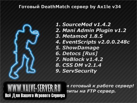 DeathMatch Server by Ax1le v34