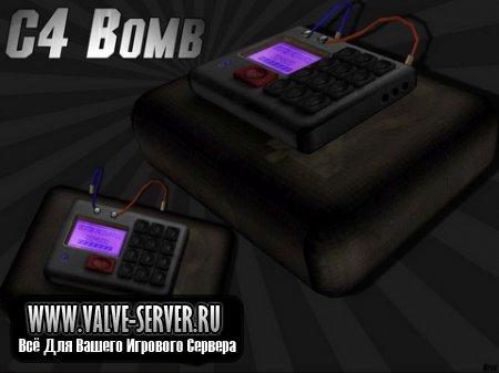 Модель бомбы C4 для CSS