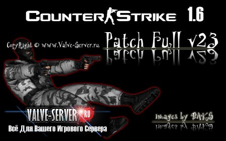 Counter-Strike 1.6 Patch Full v23