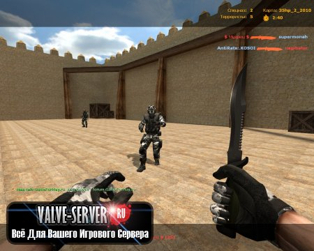 Counter-Strike Source v75 Mod By Status [ 2013 ]