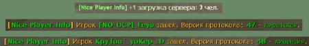 Nice Player Info v. 1.0
