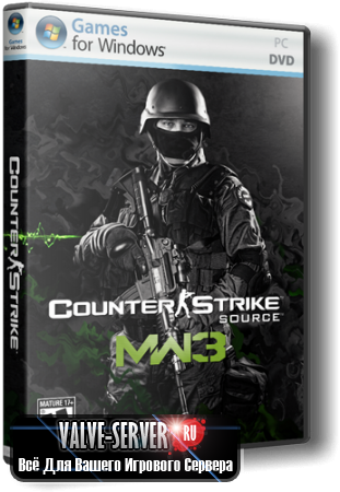 Counter-Strike: Source - Modern Warfare 3 (CS:S MW3) v34 No-steam