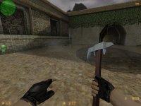 Топор вместо ножа для CS 1.6
