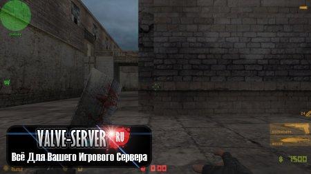 Скин ножа Heavy zombie knife для CS 1.6